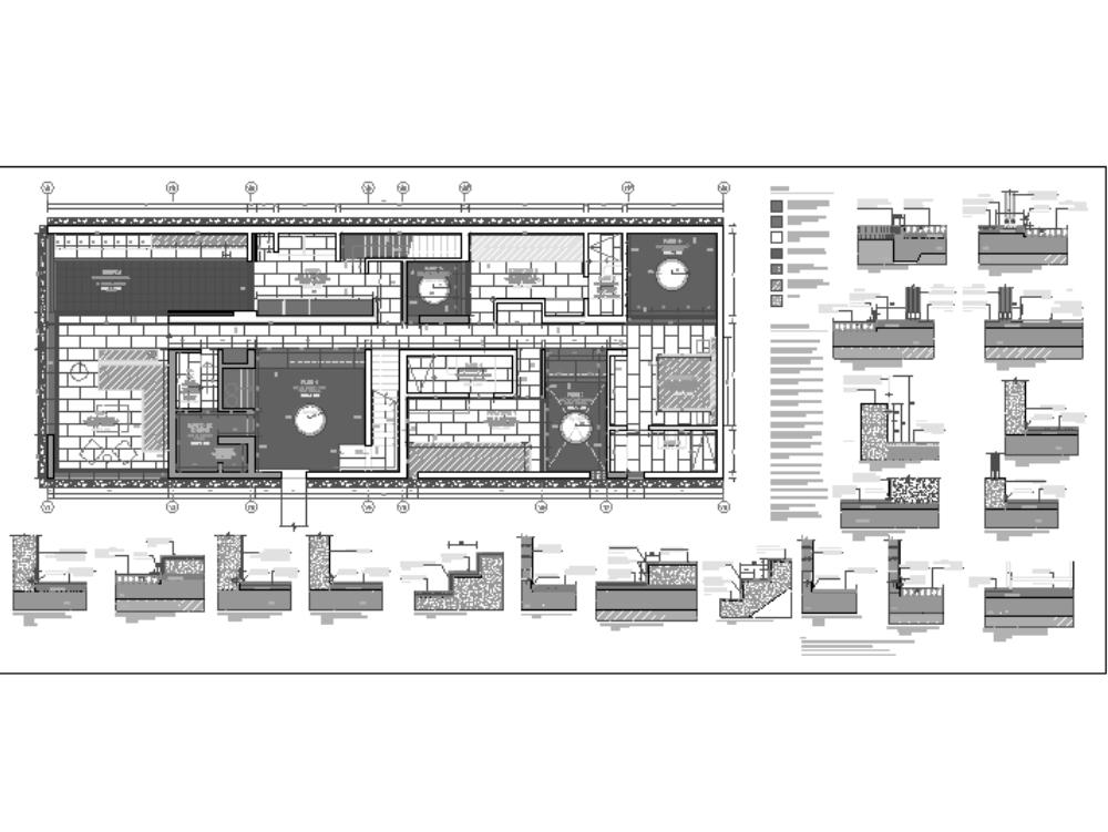 Detalles constructivos - pisos exteriores