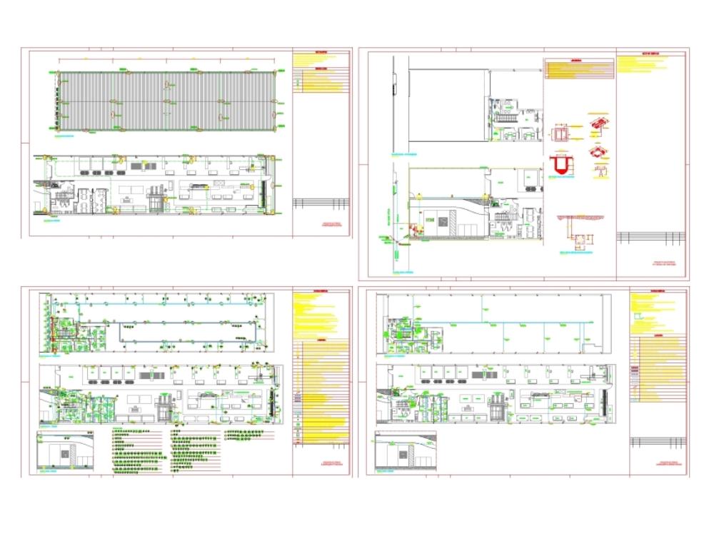 Proyecto eléctrico - planta industrial
