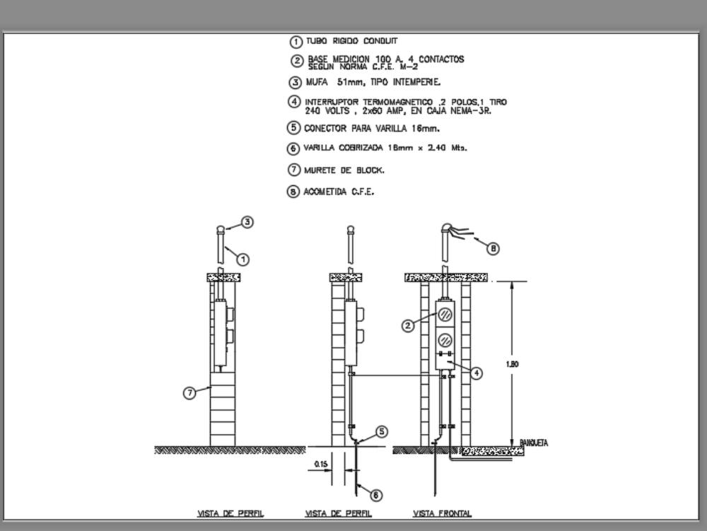 Medidor duplex de cfe autorizado para uso doméstico