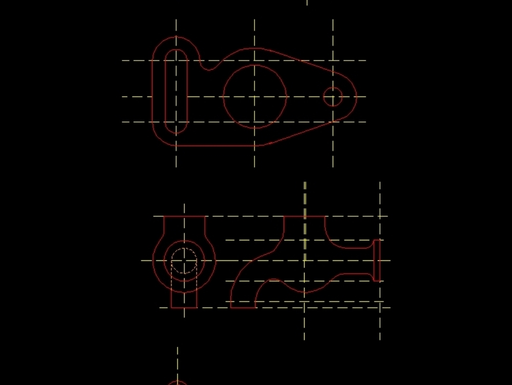 Exercises for beginners of autocad
