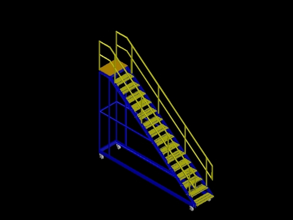 Moving staircase