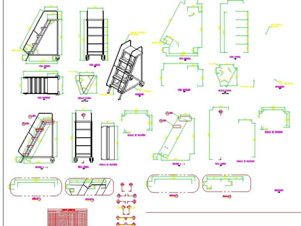 Escalator metal access