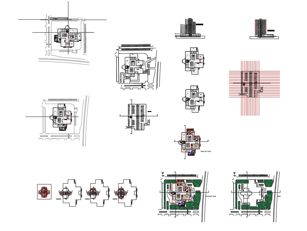 Edificio de uso mixto (comercial y residencial)