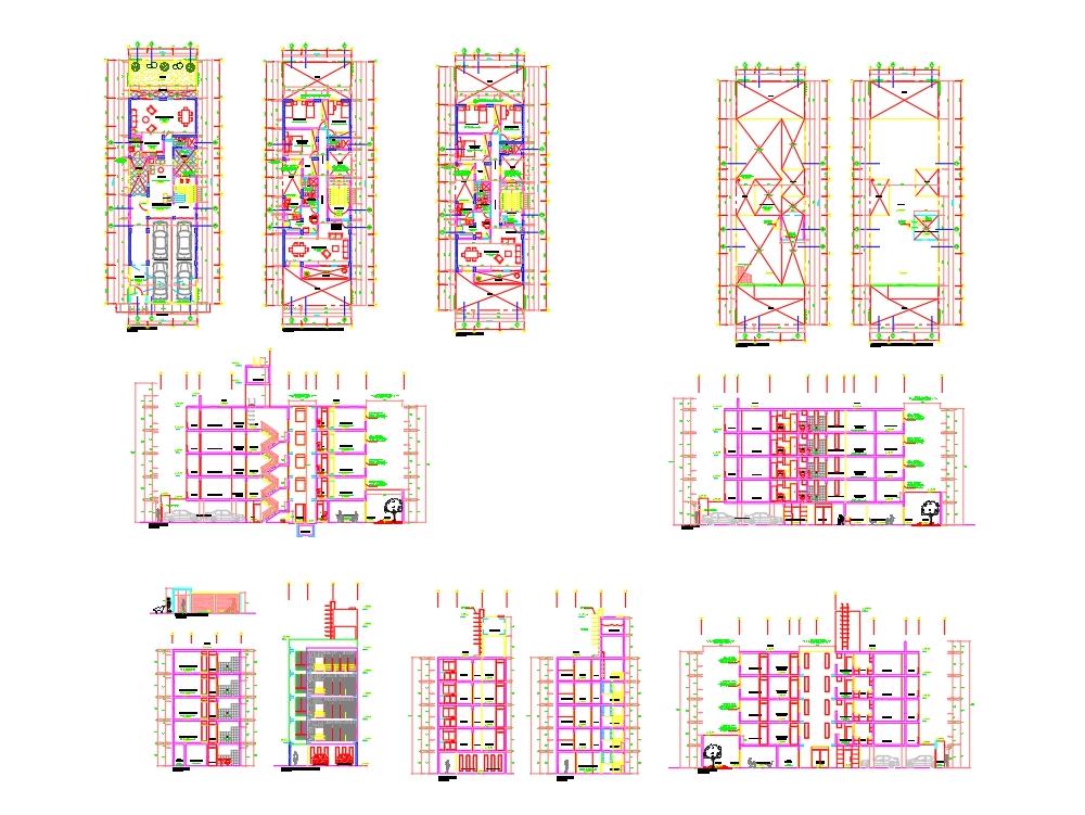 Edificio multifamiliar en lima pueblo libre