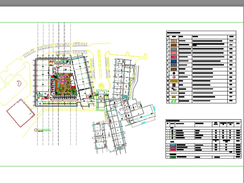 Plan maestro de paisaje en uitm pck alam