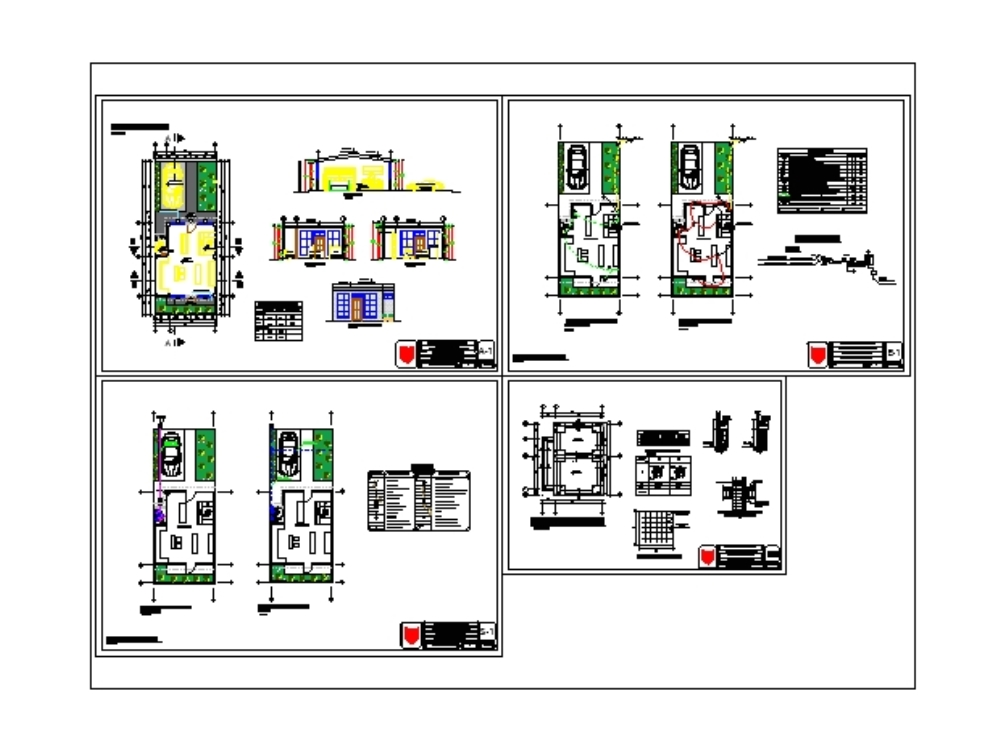 Plans of a commercial store-store-