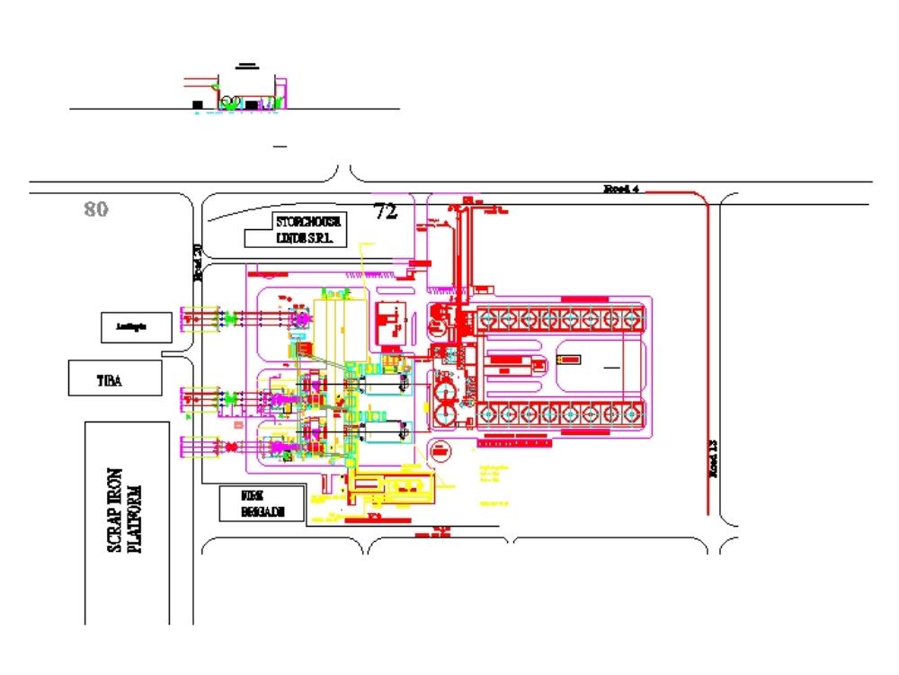 Conexión de estación de celdas gis de 110 kv de 220 kv en variante 1