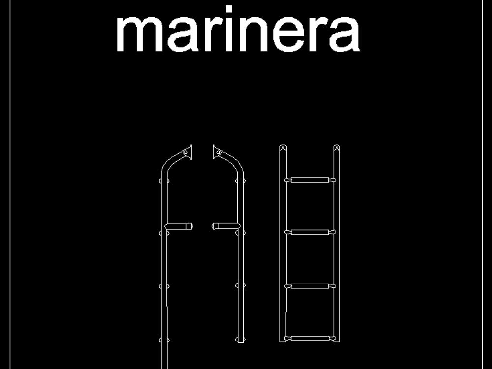 Stair views- marine stairs