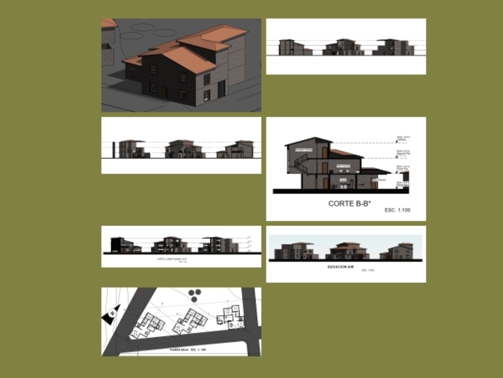 Slope revit housing