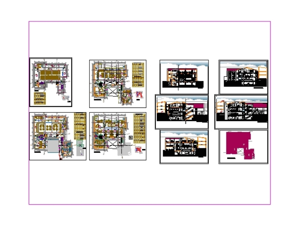 Technical file for office building