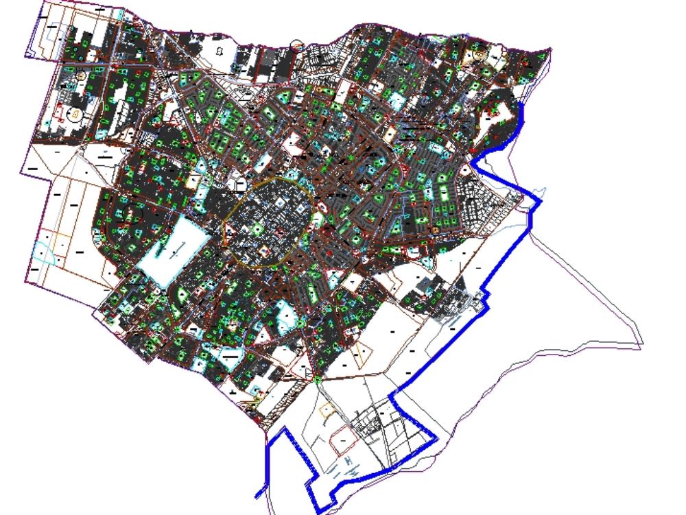 Plano zonificacion de trujillo 2012