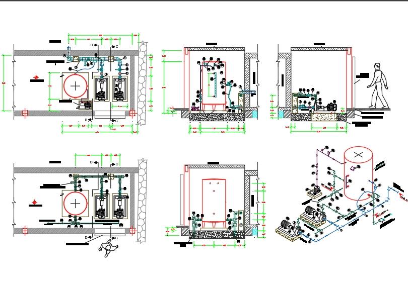 Sistema hidroneumatico para escuela