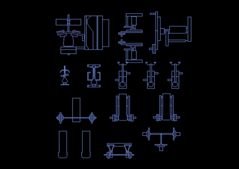 Mobiliario gym