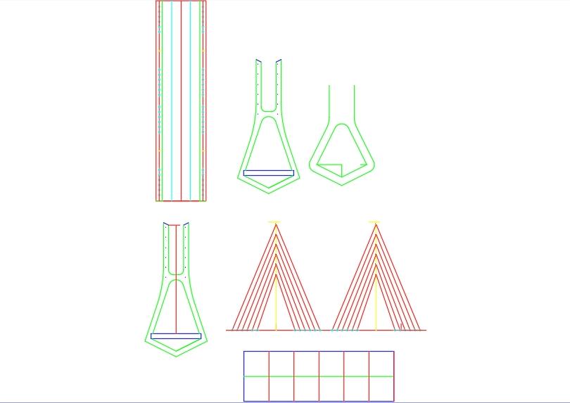 Columnas de puentes para imprimir laser