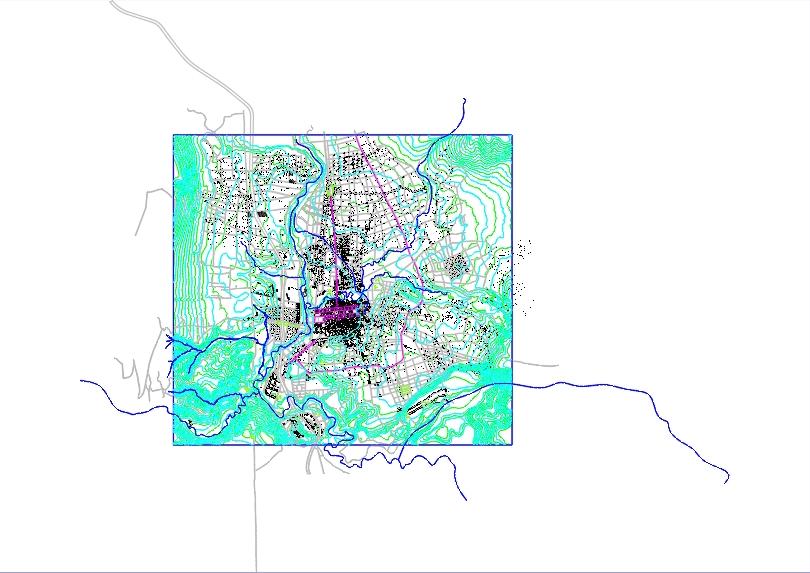 Cadastral plan canton salcedo; center