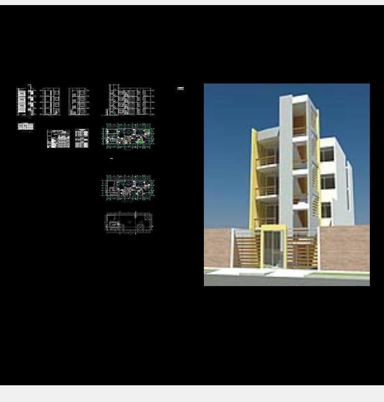 Multifamily housing of 7m x 20 m.