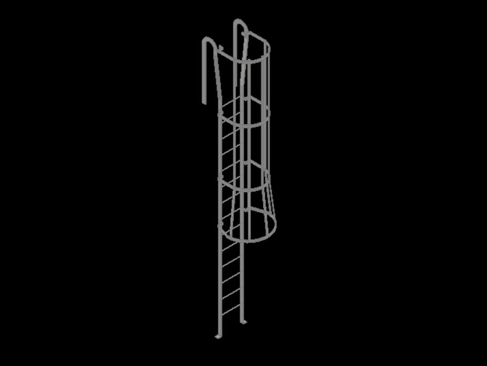 3d cat ladder