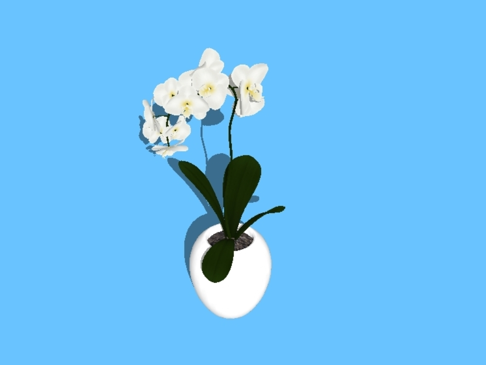 Plantas interiores 3d de alta definición