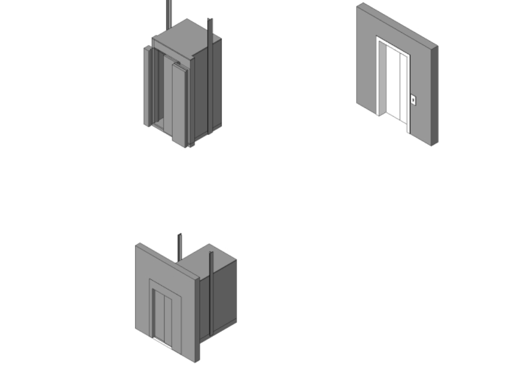 Families of lifts for revit