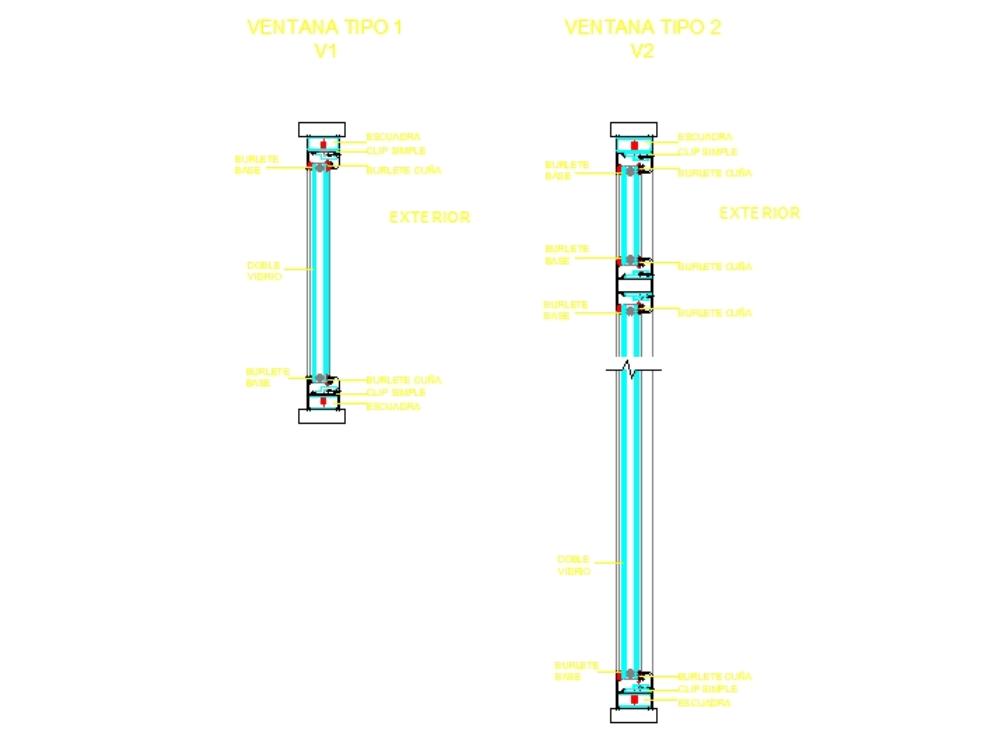 Ventana doble acristalamiento dvh