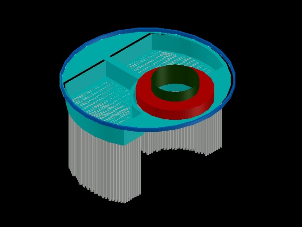 Caldera pirotubular de 1000 bhp de potencia