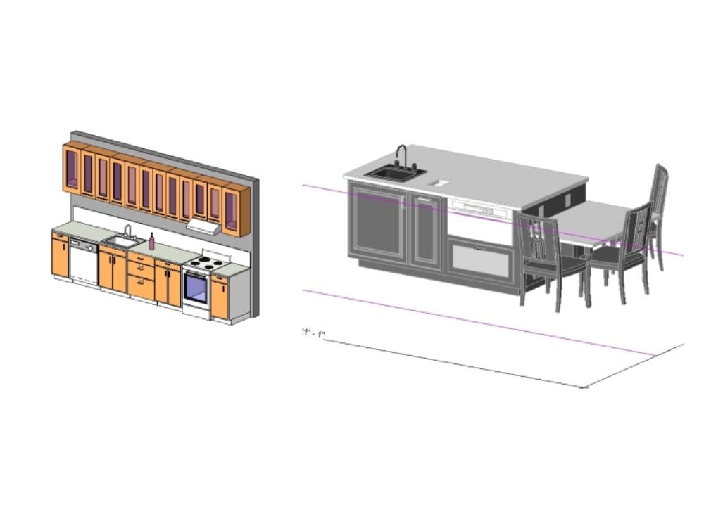 Mobiliario para cocina completoss