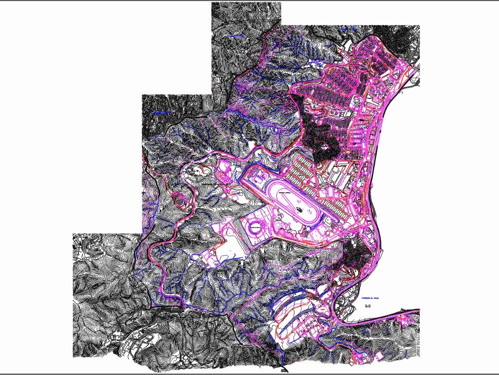 Plano de ubicacion caracas libertador