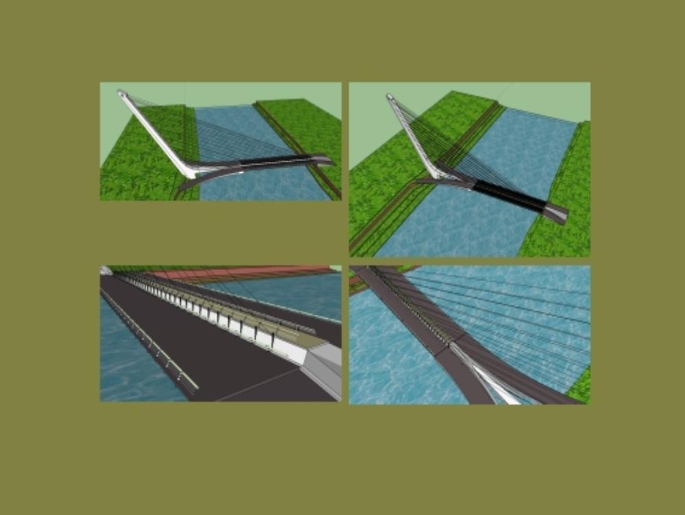 Puete alamillo - santiago calatrava