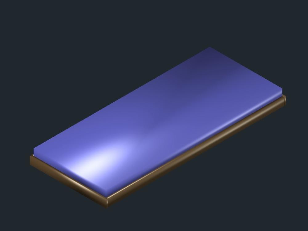 Colchón individual de espuma para cama