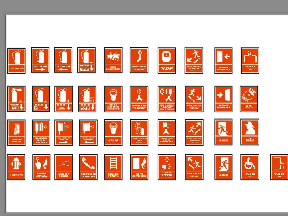 Signaling extinguishers; signals