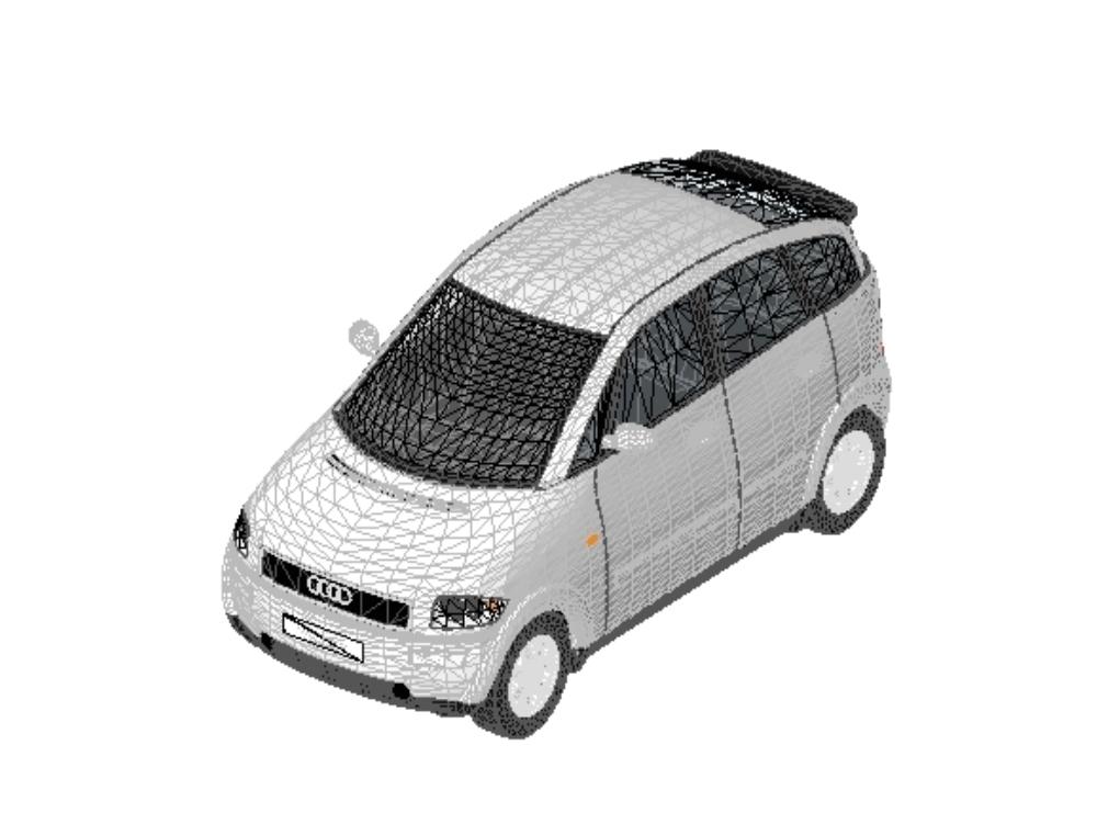Audi brand car a2 series