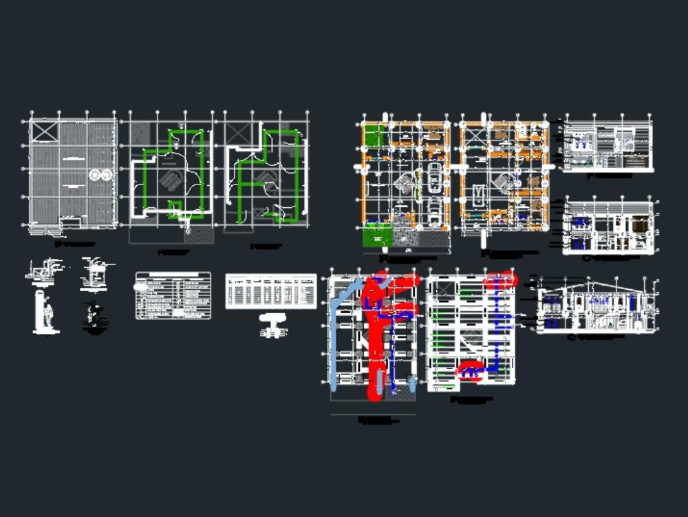 2-story dividing house
