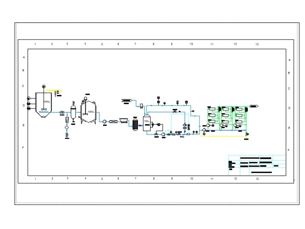 Unidad tanque tangencial plano 2d p