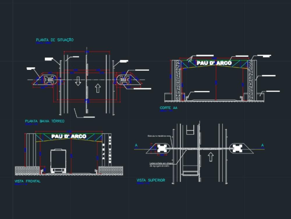 Arrival portal project -