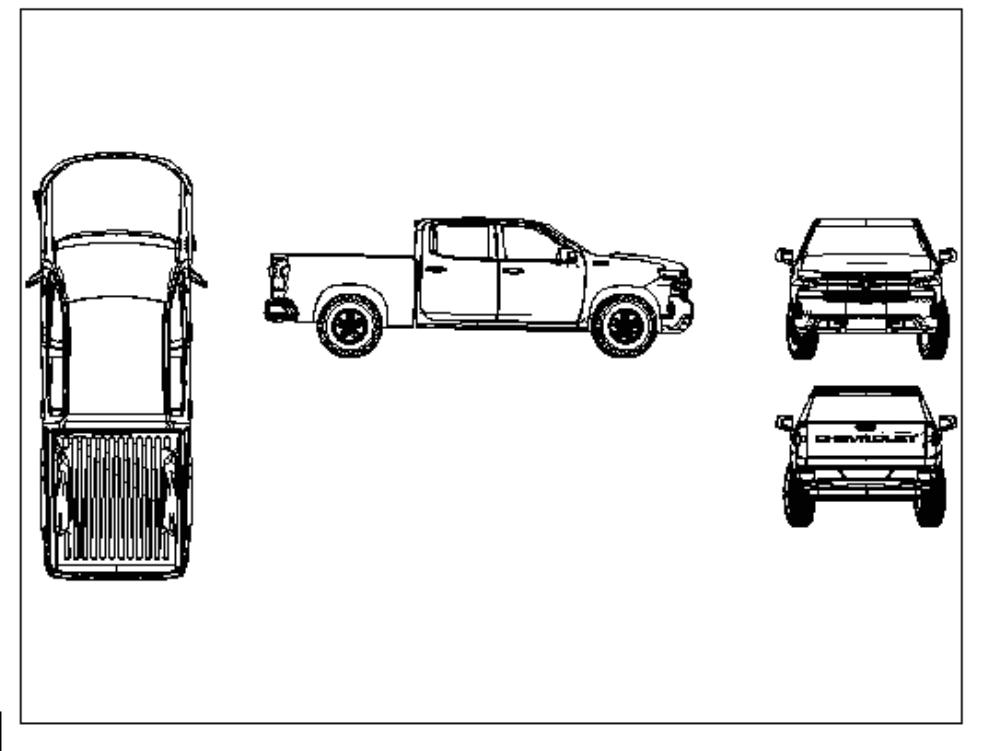 Chevrolet cheyenne mod. 2020