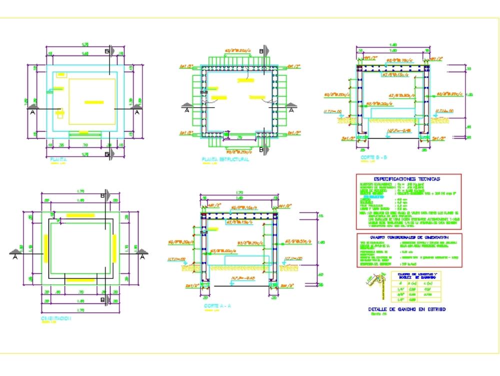 Accelerograph and piezometric shed