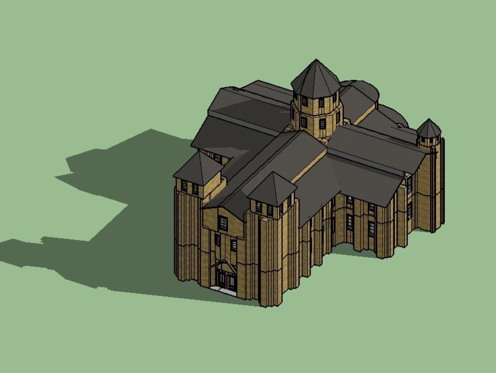 Iglesia santa fe de conques francia