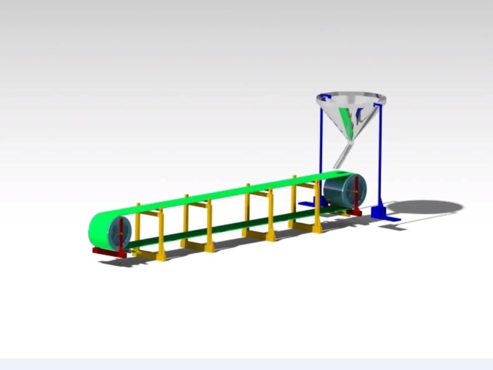 Montaje de la cinta transportadora sample2.0