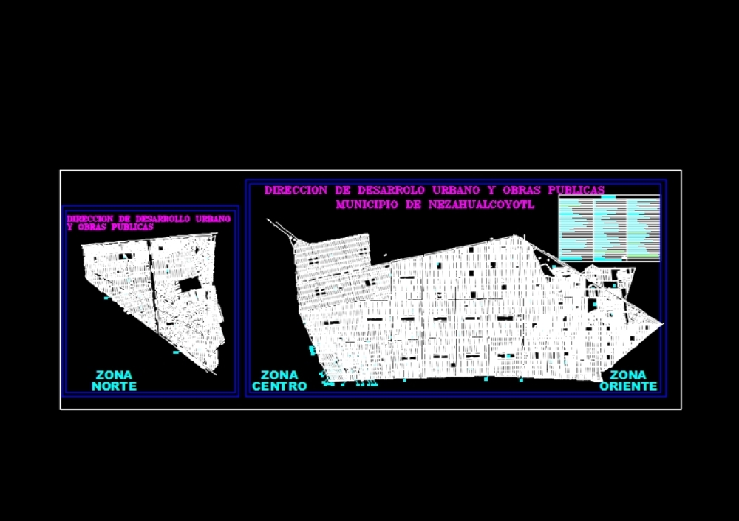 Nezahualcoyotl lotification plan
