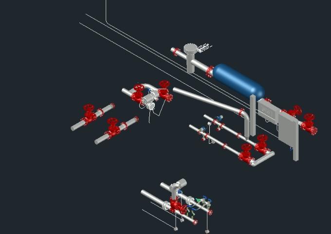 Medidor de turbina antideslizante de fmc pipe line co