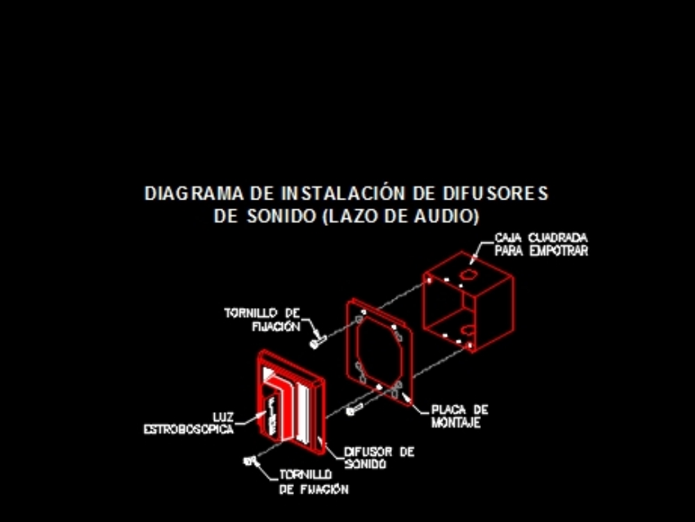 Estacion manual de sonido  sistema de alarmas