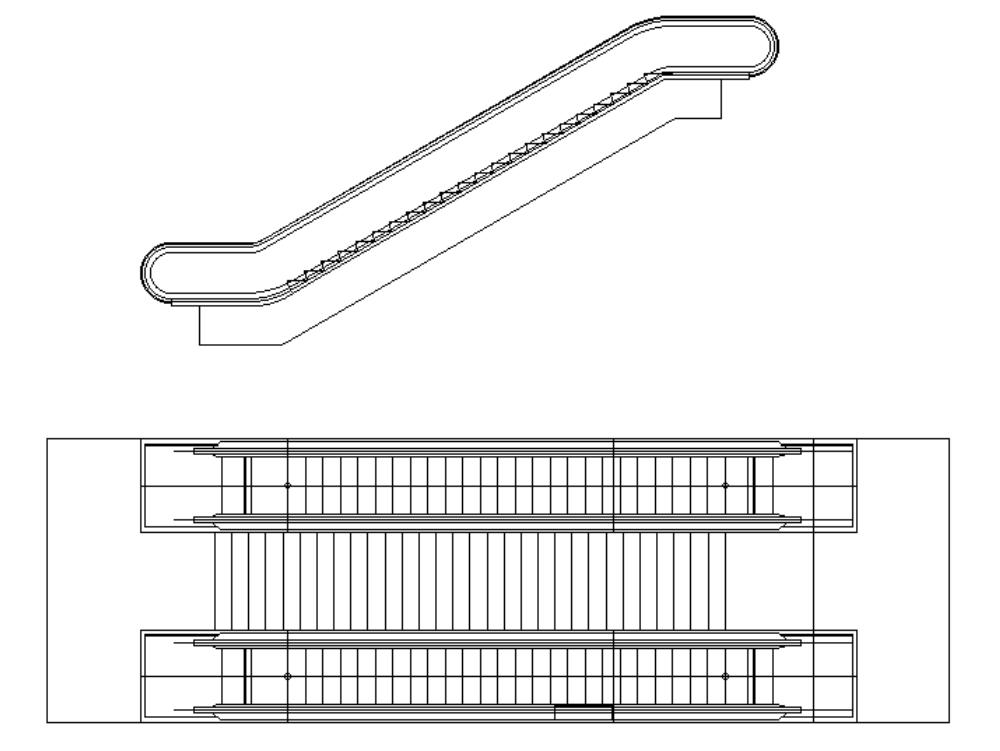 Mechanical stair