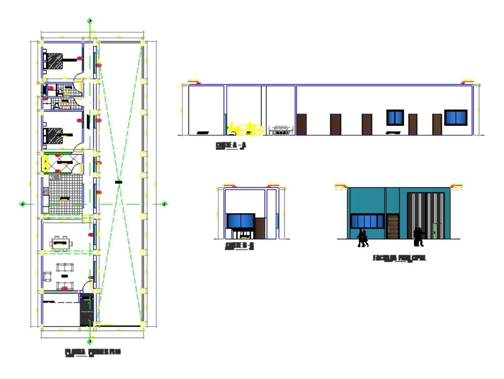 Instalaciones vivienda 1 nivel
