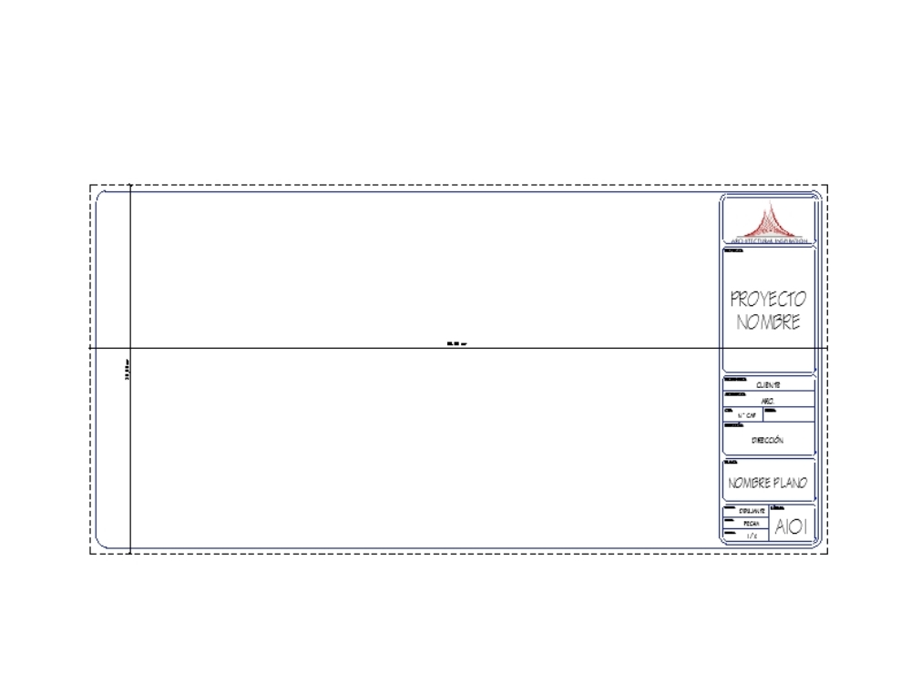 Letterhead family in 30x60 format