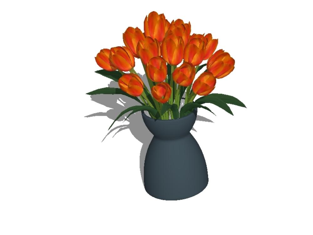 Plantas interiores 3d de alta definicion