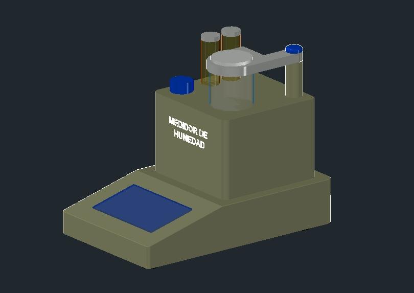 Medidor de humedad de equipos de laboratorio