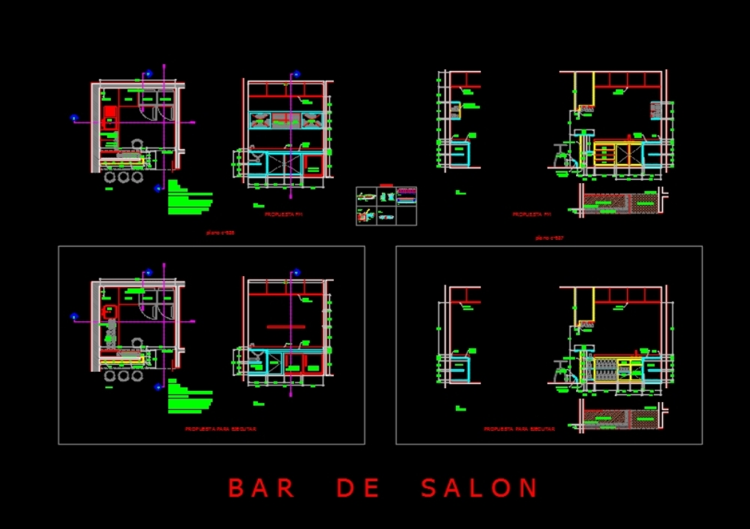 Detalles bar saloon