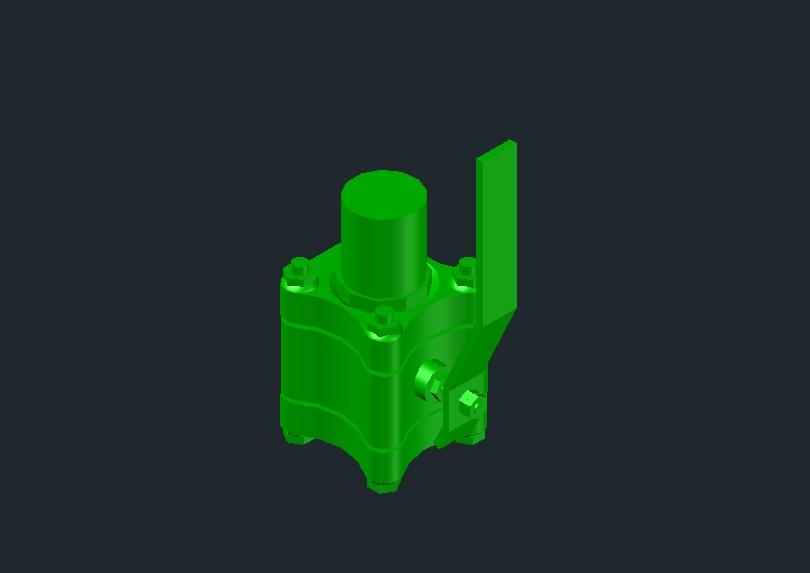 Válvula de esfera 3d worcester acero inoxidable o al carbon