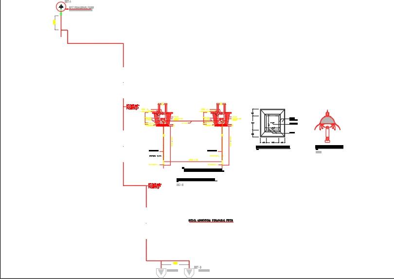 Detail penangkal petir kantor dan rumah