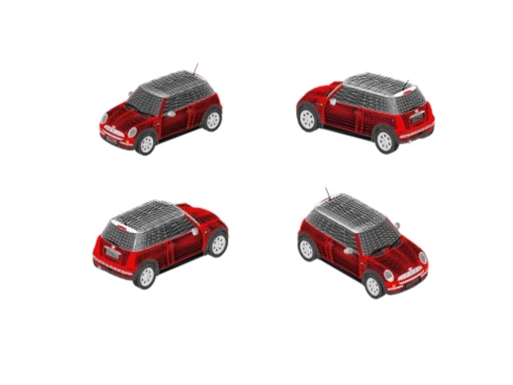 Car for revit brand mini cooper